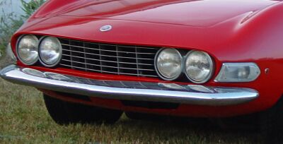 FIAT Dino spider 2.0 Grill model identification