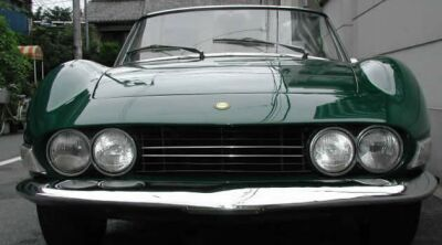 FIAT Dino spider 2.4 Grill model identification
